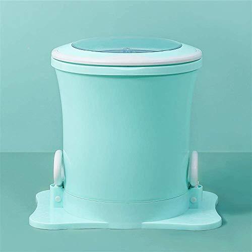 ETE ETMATE Mini Sécheuse Portative Sèche-linge Manuel, Sécheuse Centrifuge à Grande Vitesse, pas Besoin d'utiliser un Sèche-linge électrique pour Appartement, Hôtel, Dortoir (Vert)