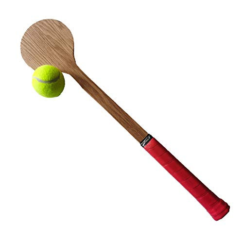 Mike Cuchara de madera de la raqueta del tenis del tamaño del niño para el entrenamiento casero del taladro del puntero
