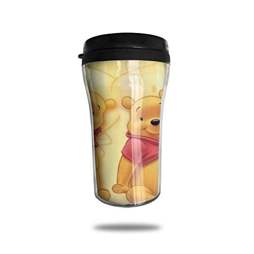Winnie The Pooh - Tazas de café con tapa (250 ml)