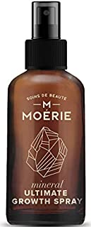Moerie Ultimate Mineral Hair Growth Spray – For Longer, Thicker, Fuller Hair - with Biotin & Caffeine - Vegan Hair Product...