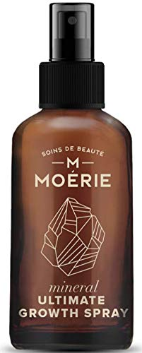 Moerie Ultimate Mineral Hair Growth Spray – For Longer, Thicker, Fuller Hair - with Biotin & Caffeine - Vegan Hair Products – Paraben Free – All Hair Types – Reverse Hair Loss