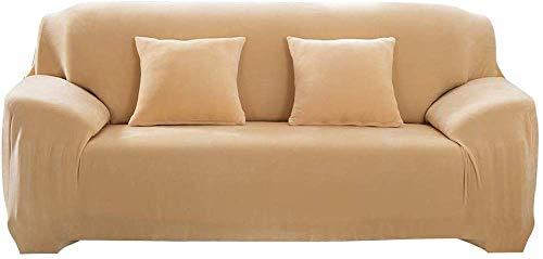 FDQNDXF Fundas para sillas Funda de sofá de Felpa de Terciopelo Grueso, Antideslizante Funda de sofá para mantenerte en su Lugar Funda de Muebles súper Rica para la Vida, Pro