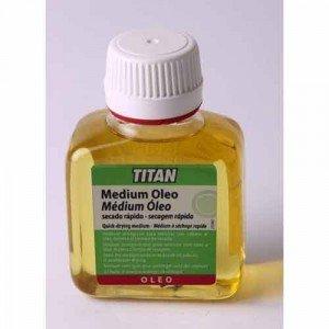Titan: Medium óleo secado rápido: 100 ml