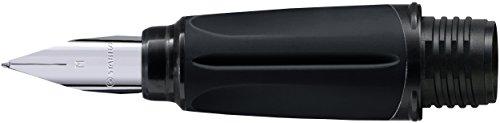 Griffstück für Schulfüller - STABILO EASYbuddy in schwarz/limette - mit Standard-Feder M