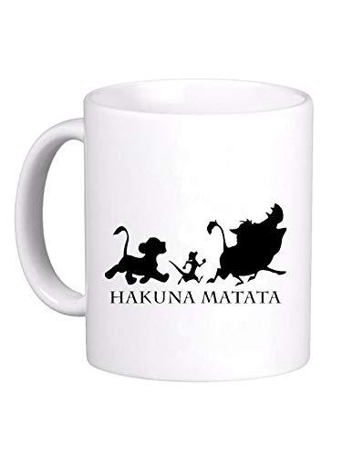 le herisson Tazza Hakuna Matata Pumbaa Timon Simba Cartoni Animati…