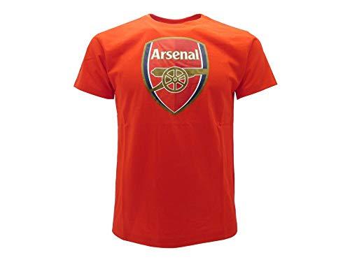 Gilles Cantuel T-Shirt Ufficiale Arsenal F.C. Taglia M Adulti E Ragazzi Arsenal Football Club Ufficiale