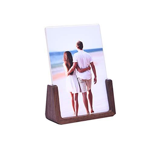 XJY-xiangkuang Marco de Fotos Personalizado para mamá - Regalos para el día de la Madre de la Hija mamá - Marcos de Madera para mamá - 6x4 / 7x5 / 8x6 Marcos de tamaño Disponibles
