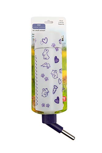 Lixit Corporation SLX0345 All Weather Hamster Water Bottle, 16-Ounce by Lixit