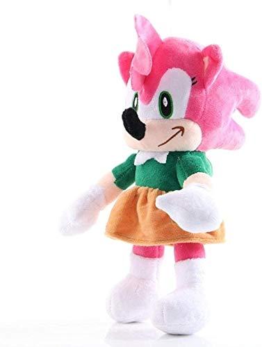 Juguete de Peluche 26 cm Amy Pink Muñeca de Peluche Juguete Sonic The Hedgehog Anime Figuras Muñeca de Peluche Niño Chica Cumpleaños B