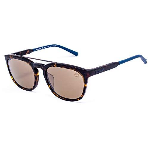 Timberland TB9181F-5552H Gafas, Dark Havana/Brown, 55/19/145 para Hombre