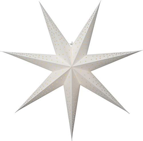 Star - Estrella de papel, color blanco