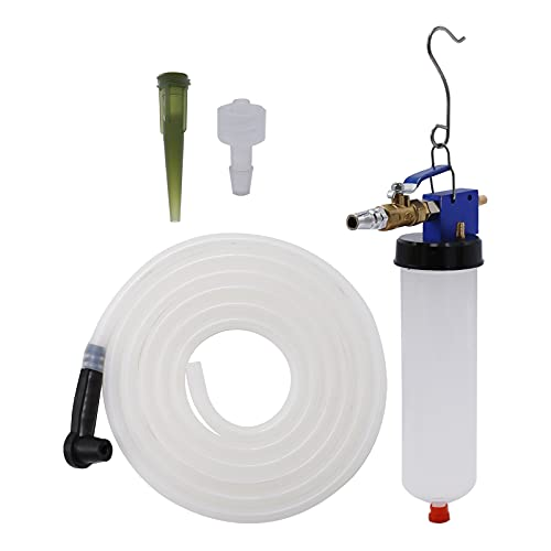 Pneumatic Brake Fluid Bleeder Kit Auto Air Extractor Pump Oil Bleeding Tool for Automotive Brake Fluid and Clutch Fluid and Engine Oil