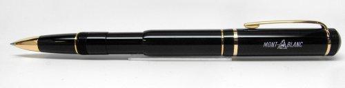 Montblanc 100Año Aniversario edición bolígrafo de punta redonda, color negro y dorado (36708)