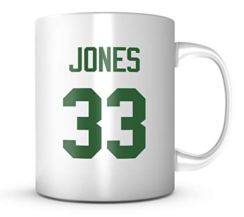 Aaron Jones Mug - Green Bay Football Jersey Number Coffee Cup