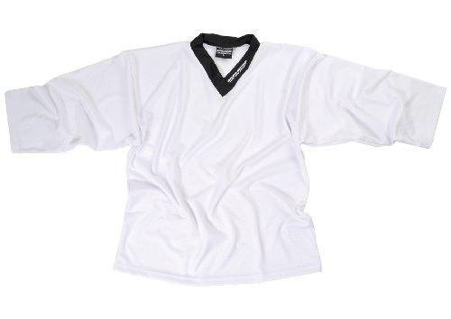 Sherwood Erwachsene Trainingstrikot Sher-Wood Practice Jersey, Weiß, XXXL, 42011
