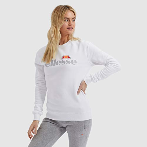 ellesse Damen Tofaro Sweatshirt, Weiß (White), 38