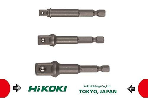 Hikoki tools 751970 - Juego adaptadores hexagonal llave vaso