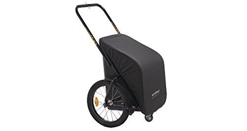 Donkey Classic schwarz von Winther / der praktische Fahrrad-Anhänger (Stauraum: 65 Liter / Zuladung: 40 kg) / Paketpreis inkl. Universalkupplung