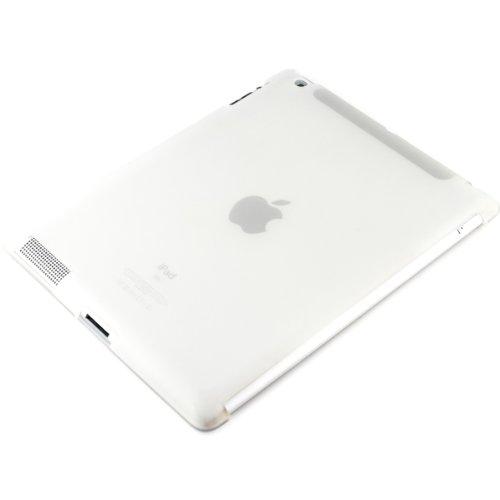 kwmobile Hülle kompatibel mit Apple iPad 2/3 / 4 - Tablet Cover - Tab Case Silikon Schutzhülle in Weiß