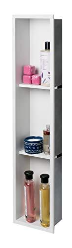 ALFI Brand ABNC0836-W - Alcachofa de ducha, color blanco mate