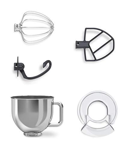 CARRERA Küchenmaschine No 657, Testsieger, 800 Watt, 5l, Edelstahl-Rührschüssel, Planetarisches Rührsystem - 6