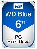WD WD60EZRZ Blu Hard Disk Desktop da 6 TB, 5400 RPM, SATA 6 GB/s, 64 MB Cache, 3.5 '