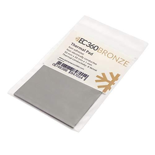 EC360® Bronze 8W/mK Wärmeleitpad (50 x 50 x 1,0 mm)
