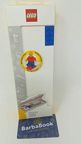 SET ASTUCCIO RIGIDO BLU + MINIFIGURE LEGO ART.52609