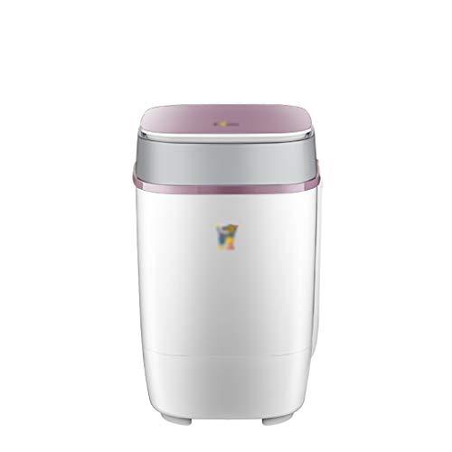Waschmaschinen Portable Kind Baby Einzel Tub Waschmaschine, Einbauschränke Ozon-Generator + blaues Licht Sterilisation, 3,5 kg Kapazität for Camping, Appartements, Schlafsäle, College-Zimmer, RV