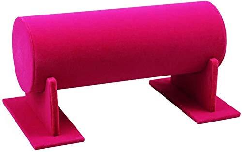 YAYY haarspeld display flanel T-vorm sieraad display toilethouder voor haaraccessoires (grijs) (upgrade)