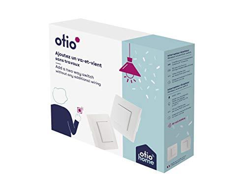 Interrupteur va-et-vient sans fil connecté - Otio