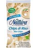 Eurofood Chips di Riso (-75% di Grassi) - 90 gr