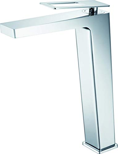 Grifo monomando de lavabo caño alto Imex Suecia BDC032-3CR