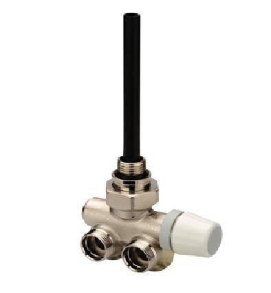 """baratos y buenos Orkly Single Pipe 1/2 """"Válvula del radiador del riel de toalla del termostato izquierdo calidad"""