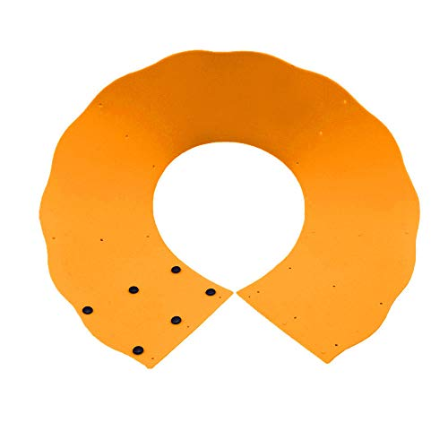 Xisheep Splash Guard,Oil Barrier Cooking Silicone Pot Circle Anti Splashing Oil Baffle Kitchen Tool Kitchen Dining Bar, for Home DIY (Orange)