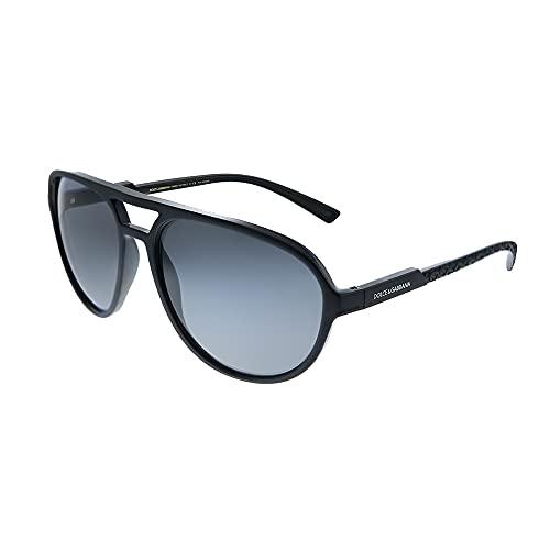 Dolce & Gabbana Gafas de Sol DG 6150 Matte Black/Grey 60/17/145 hombre