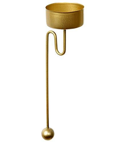 Baumkerzenhalter Teelicht Balancehalter 4 er Set Gold