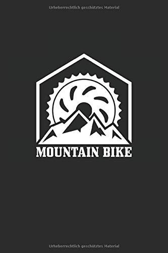 Fahrrad: Liniertes Fahrrad Rennrad Mountainbike Geschenk Notizbuch oder Notizheft liniert - Journal mit einem Fahrrad für Männer und Frauen mit Linien