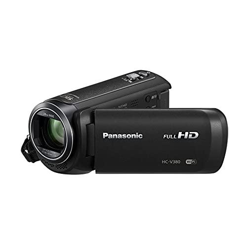 Panasonic hc-v380Videocamere classica 1080pixels Zoom ottico 50x 2.51Mpix