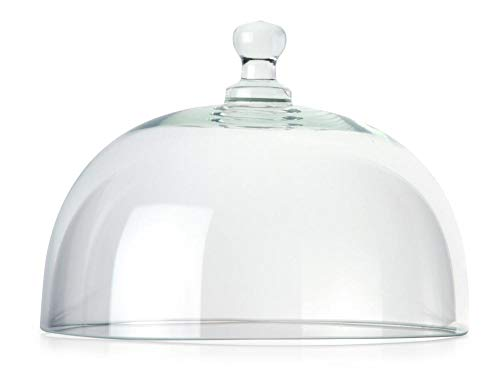 Continenta Käseglocke, Glasglocke einzeln, passend zu CTA3046, Größe: Ø 20 cm