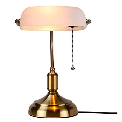 HSLY E27 Lámpara de Mesa Estilo para Sala de Estar, Ilumina