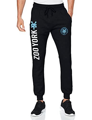 Zoo York Emblem Pantaloni Sportivi, Blu (Navy Navy), W29 / L31 (Taglia Produttore: Large) Uomo