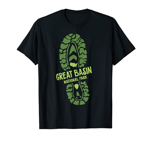 Great Basin National Park Nevada NV Hiking Boot T-Shirt