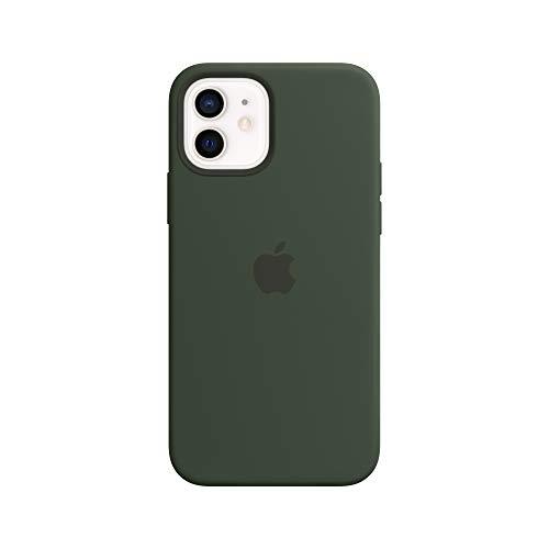 Apple SilikonCase mit MagSafe (für iPhone 12 | 12 Pro) - Zyperngrün