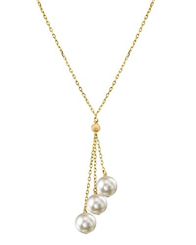 THE PEARL SOURCE 14K Gold 7.0-7.5mm…
