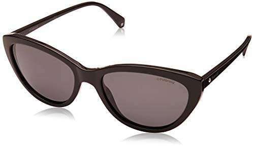 Polaroid PLD 4080/S Sunglasses, BLACK, 55 Womens