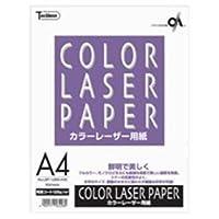 ( お徳用 100セット ) 十千万 カラーレーザ用紙 LBP-128M-A4B A4 50枚