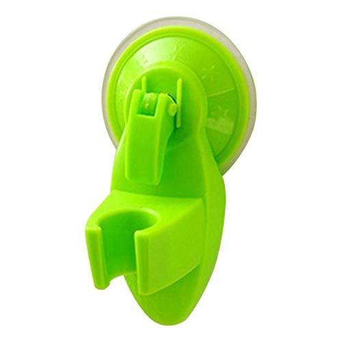 RAQ zuignap douchehouder douchekop sproeier houder ondersteuning douchekop houder rek badaccessoires groen