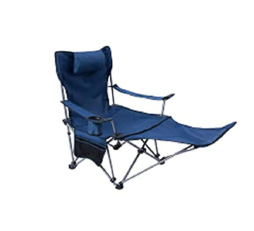XXCHUIJU Suitable for carrying bagsOutdoor Folding Backpacking High Back Camp Lounge Chairs with Headrest,Outdoor Chair Folding camping chair Camping chair with armrests Folding chair