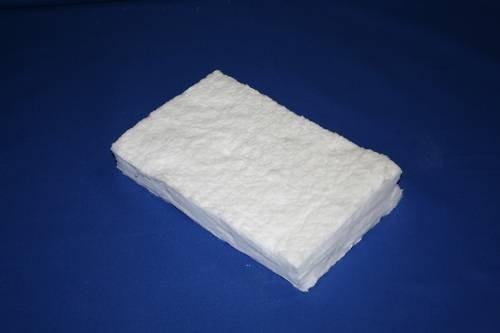 Keramikschwämme verschiedene Größen Keramische Wolle Keramik Wolle für Ethanol Bio-Ethanol Gelkamin Brennkammer Bioethanolkamin (30 x 10 x 1,3 cm)